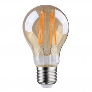 LED FILAMENT E27 PEER DIMBAAR AMBER GLAS 6.5W