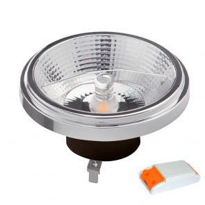 LED AR111 G53 SPOT 45° DIM TO WARM 12W ZWART