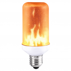 LED FLAME LAMP MET BEWEGEND VUUREFFECT