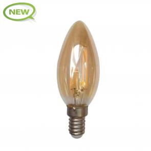 LED FILAMENT E14 AMBER 1.6W