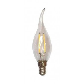 LED FILAMENT E14 FLAME CLEAR 1.6W