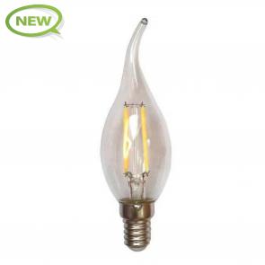 LED FILAMENT E14 FLAME CLEAR 1.6W
