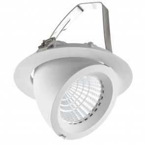 LED DOWNLIGHT KANTELBAAR Ø205 40W