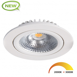 LED INBOUWSPOT KANTELBAAR  5W DIM to WARM WIT KLASSE 2