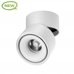 LED DOWNLIGHT OPBOUW DIMBAAR 7W WIT