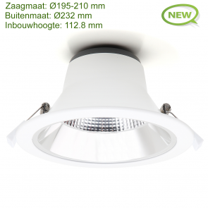 LED DOWNLIGHT REFLECTOR TRI COLOR 15W