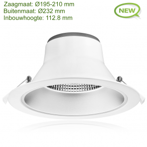LED DOWNLIGHT REFLECTOR TRI COLOR 28W