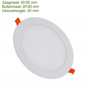 LED DOWNLIGHT SLIM Ø105 6W