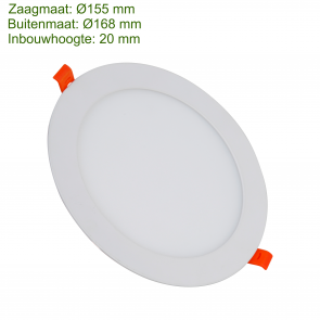 LED DOWNLIGHT SLIM Ø155 12W