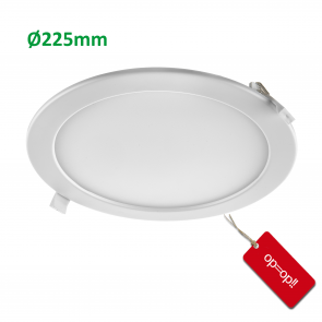 LED DOWNLIGHT SLIM ECO Ø225mm 20W