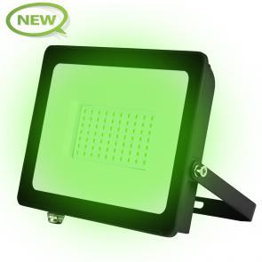 LED BREEDSTRALER 120° IP66 50W KLASSE 2 GROEN
