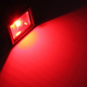 LED FLOODLIGHT IP65 10W RED