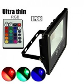 LED FLOODLIGHT RGB IP65 10W