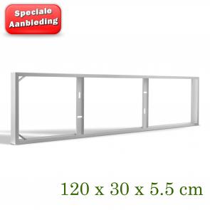 OPBOUWFRAME T.B.V. 120X30CM PANEEL (B-KEUS)