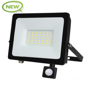 LED BREEDSTRALER MET SENSOR 120° IP65 30W KLASSE 2