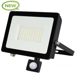 LED BREEDSTRALER MET SENSOR 120° IP65 50W KLASSE 2