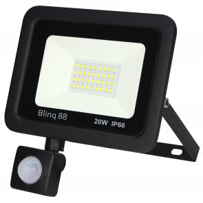 Floodlight met sensor 20W