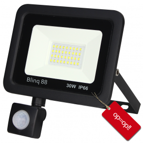 Floodlight met sensor 30W