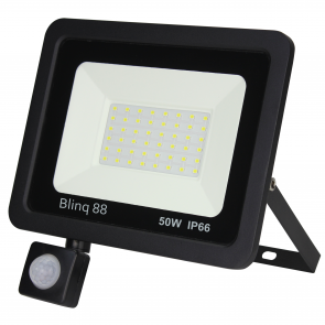 Floodlight met sensor 50W