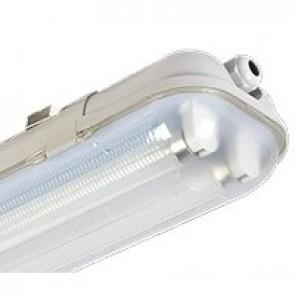 ARMATUUR LED TL-BUIZEN DUBBEL IP65 60cm zonder lichtbron