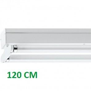 IP22 ARMATUUR T.B.V. 2X LED TL-BUIS 120CM
