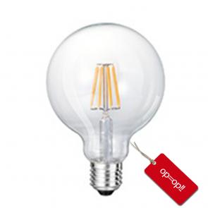 LED FILAMENT E27 GLOBE-M DIMBAAR 4W