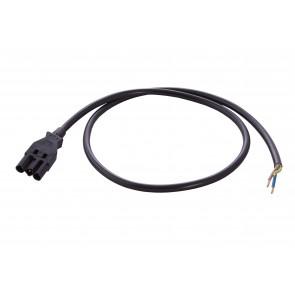 Wieland kabel 1 meter enkelzijdig Male