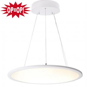 LED PANEEL WIT ROND Ø 60CM