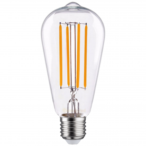 LED FILAMENT E27 EDISON DIMBAAR 6.5W